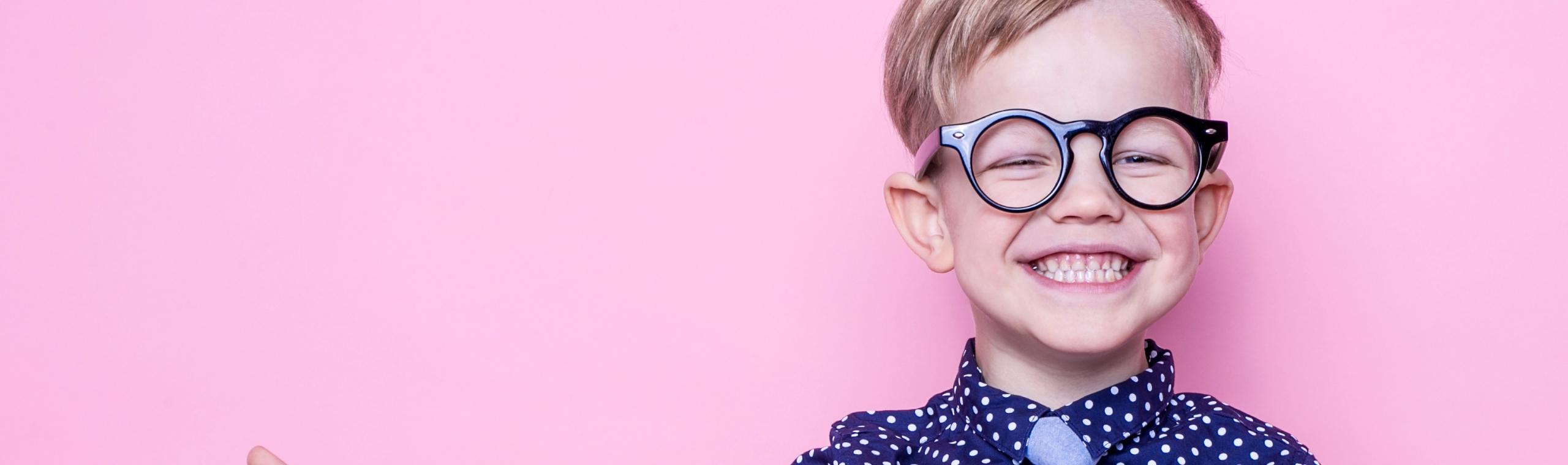 Kinderbrillen müssen passen!